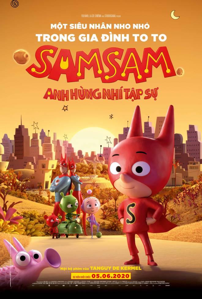 SamSam Anh hùng nhí tập sự, Phim hoạt hình SamSam, xem phim hoạt hình Samsam, Samsam, phim điện ảnh Samsam. Samsam anh hung nhi tap su. phim hoat hinh Samsam
