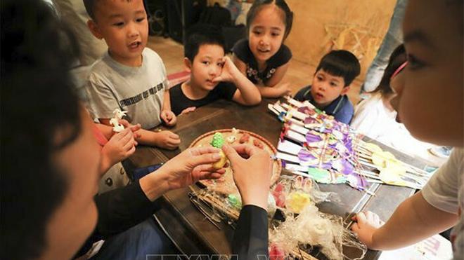 Lưu giữ nét Trung thu truyền thống giữa lòng Thủ đô Hà Nội
