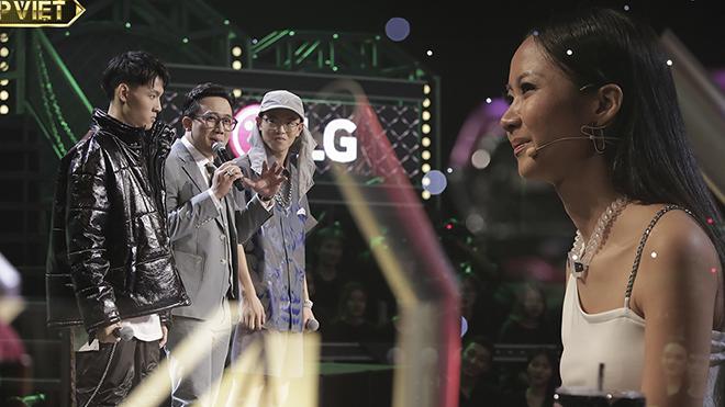 'Rap Việt': MC Trấn Thành ca tụng hot boy đội Suboi vì đưa toán học vào rap