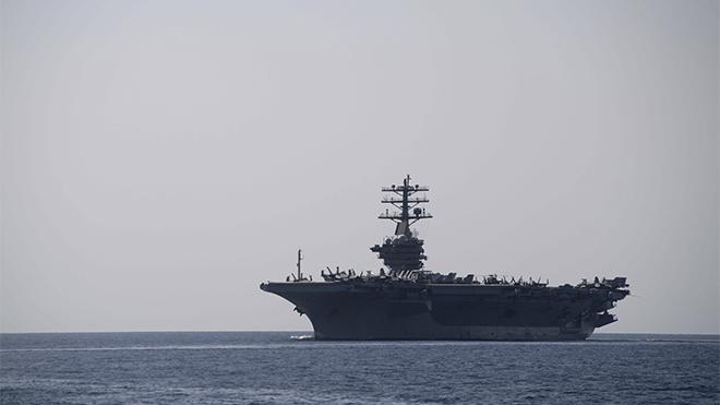 Mỹ điều nhóm tàu sân bay tấn công tới vùng Vịnh giữa căng thẳng với Iran