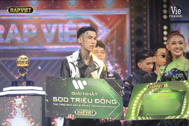 Rap Việt, xem Rap Việt, quán quân Rap Việt, quán quân Rap Việt 2020, Trấn Thành, HTV2, ai là quán quân Rap Việt, Dế Choắt, G.Ducky, quán quân Rap việt là ai, rap viet, wowy, de choat