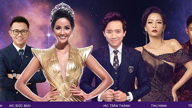 Trấn Thành, H'Hen Niê làm MC của Hoa hậu Hoàn vũ Việt Nam 2019