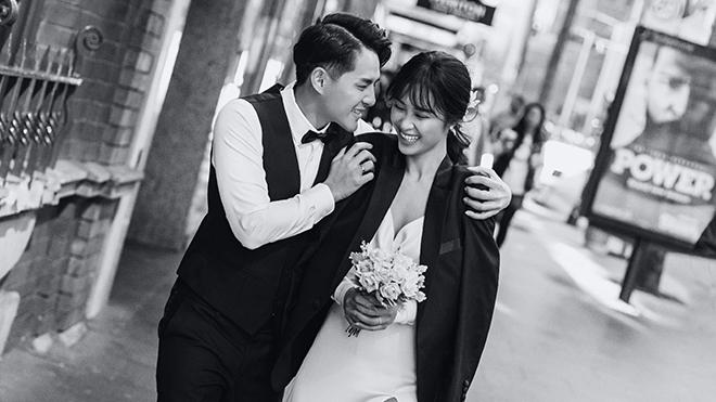 Đông Nhi - Ông Cao Thắng tung trọn vẹn ảnh cưới lãng mạn ở Úc