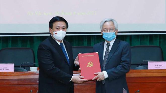 Công bố quyết định của Bộ Chính trị về công tác cán bộ của Hội đồng Lý luận Trung ương nhiệm kỳ 2021-2026