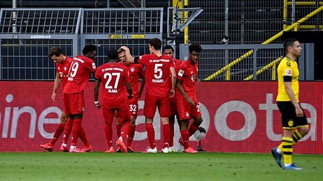 Dortmund 0-1 Bayern Munich. Haaland im tiếng, Bayern chạm tay vào đĩa bạc Bundesliga