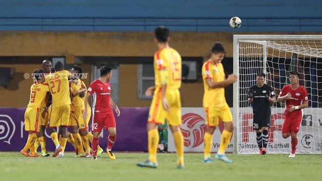 Kết quả bóng đá. Viettel 1-2 Thanh Hóa. Kết quả bóng đá vòng 6 V-League
