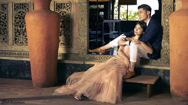 Lâm Tâm Như, Hoắc Kiến Hoa rủ nhau lên chùa cầu an cho con gái