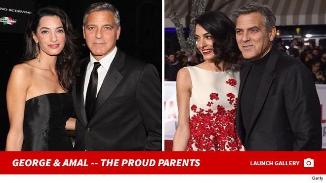 U60, tài tử George Clooney hạnh phúc chào đón cặp song sinh đầu lòng