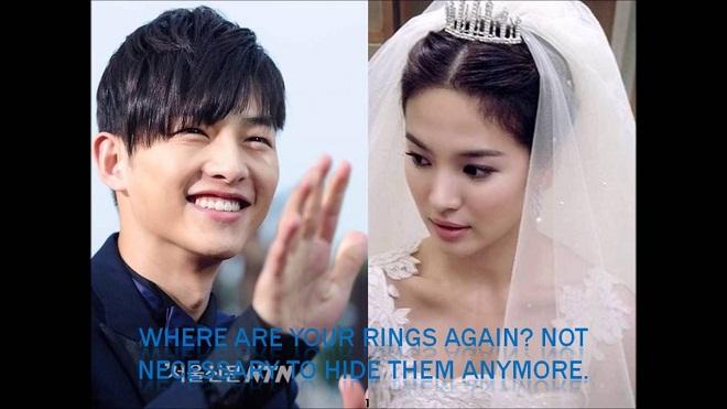 Song Joong Ki - Song Hye Kyo đã bí mật đính hôn