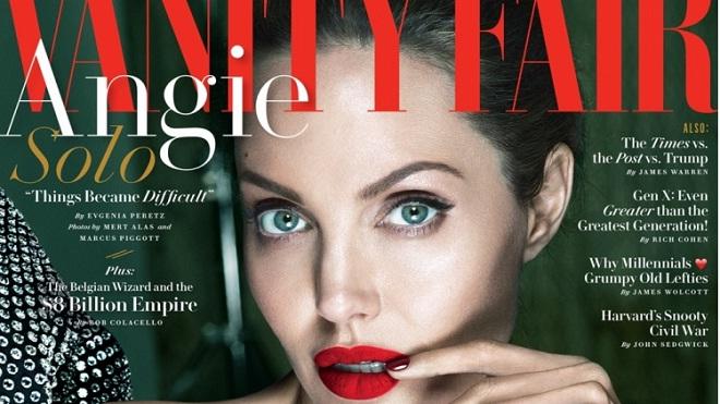 Angelina Jolie tiết lộ sốc trong bài phỏng vấn đầu tiên sau ly hôn