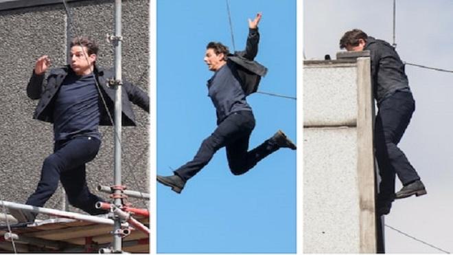 VIDEO: Tom Cruise gặp tai nạn khi quay cảnh hành động trong 'Điệp vụ bất khả thi 6'