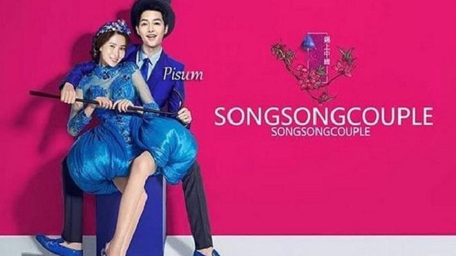 Mạng xã hội 'ngập lụt' ảnh cưới của Song Joong Ki - Song Hye Kyo