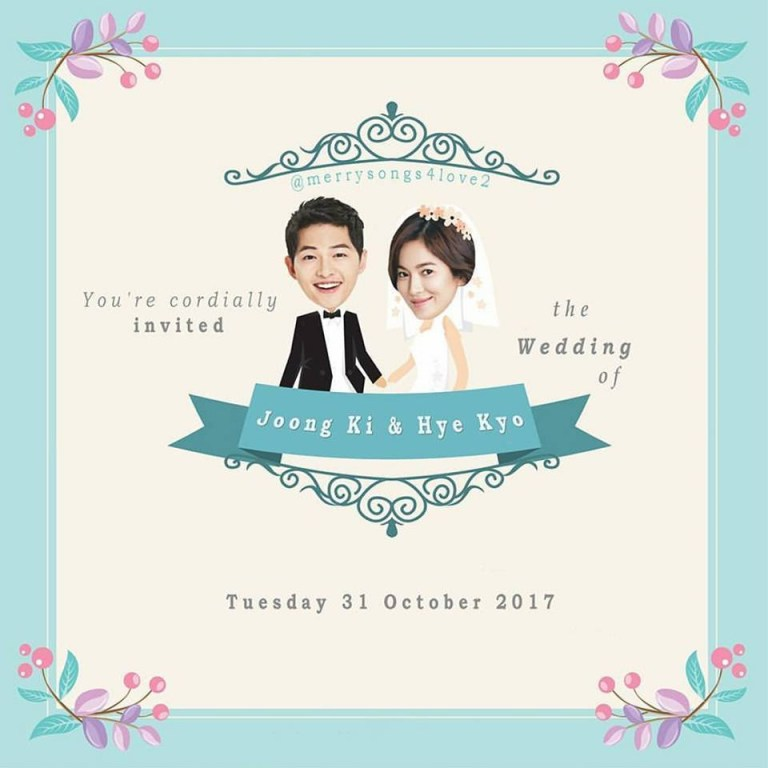 song joong ki song kye kyo wedding news 17