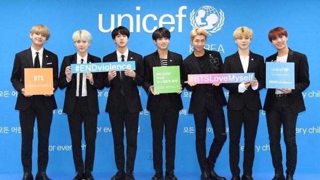 HOT: BTS chuẩn bị phát biểu tại Liên Hợp Quốc