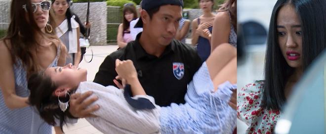 Asia's Next Top Model tập 3: Thanh Vy ngất xỉu, mắt không nhìn thấy gì