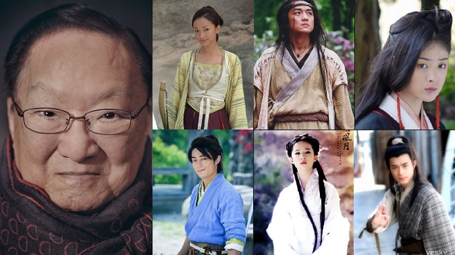 Sao cung đấu 'Như Ý truyện', 'Chân Hoàn truyện' hóa thân vào phim kiếm hiệp Kim Dung