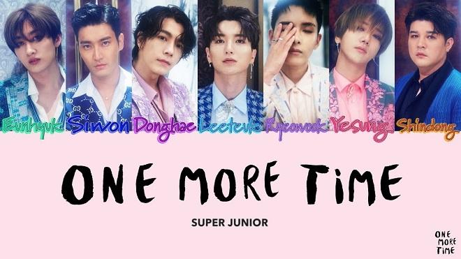 Đối thủ BTS đã xuất hiện: Super Junior càn quét nhiều BXH với 'One More Time'
