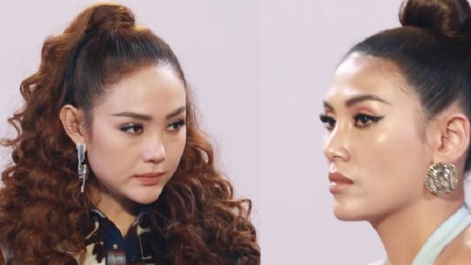 'The Face' tập 8: Võ Hoàng Yến không nhận sao chép ý tưởng của Minh Hằng