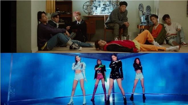 BTS bị loạt đối thủ vượt mặt trong danh sách MV ăn khách nhất Hàn Quốc 2018