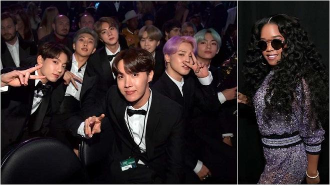 VIDEO: BTS bảnh bao, 'bắn' tiếng Anh như gió trên sân khấu Grammy