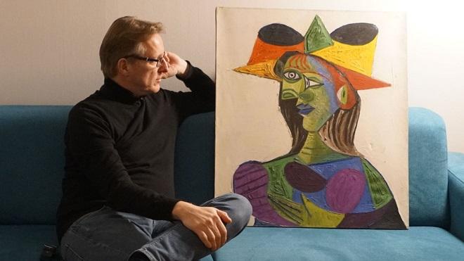 Siêu thám tử làng nghệ thuật tìm thấy tranh Picasso trị giá gần 650 tỷ