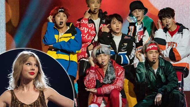 Billboard 'đại chiến': BTS và Taylor Swift mang 'hit' mới nhất ra 'đọ' ngay trên sân khấu trao giải