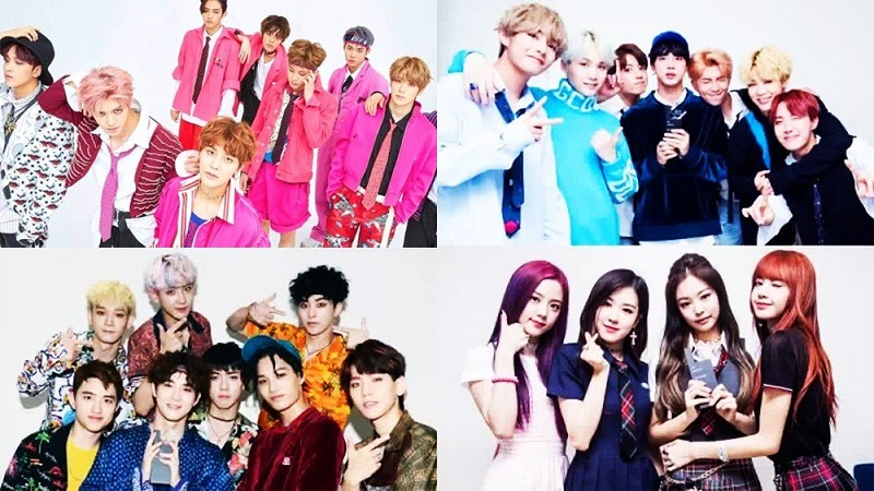 BTS, Blackpink, EXO, Red Velvet, NCT 127, Đề cử Teen Choice Awards 2019, BTS Blackpink, BTS yêu Blackpink, Teen Choice Awards 2019, BTS đề cử Teen Choice Awards 2019