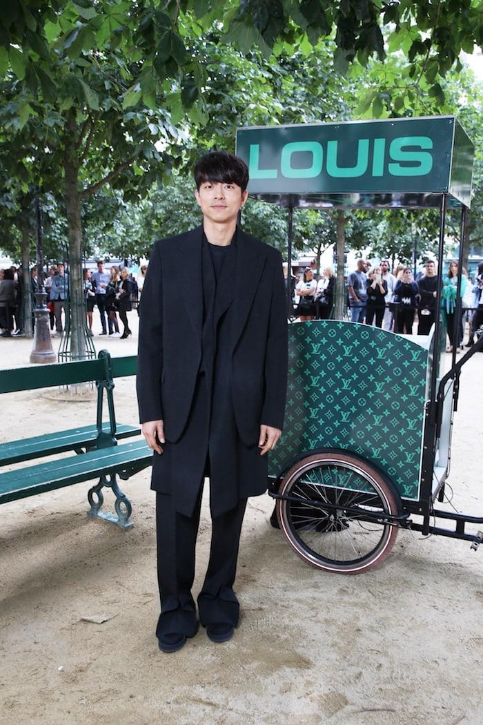 Lee Min Ho. Gong Yoo. Kim Jae Wook. Tuần lễ thời trang nam Paris