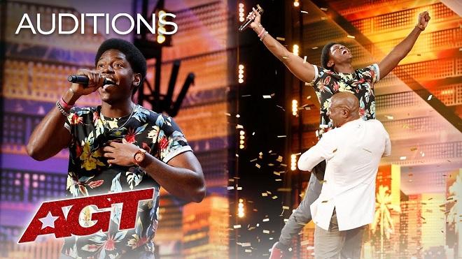 VIDEO: Thanh niên da màu tự học mix nhạc giành 'nút vàng' đặc biệt tại Got Talent Mỹ