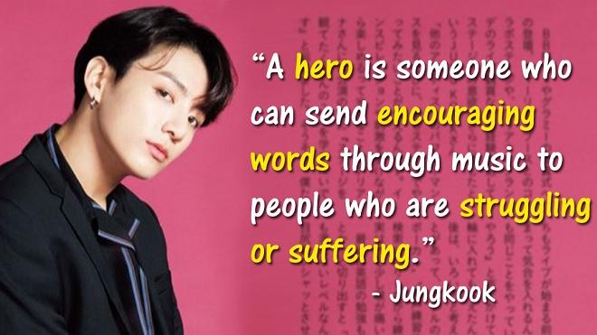 Thú vị với muôn kiểu định nghĩa 'người hùng' trong mắt BTS