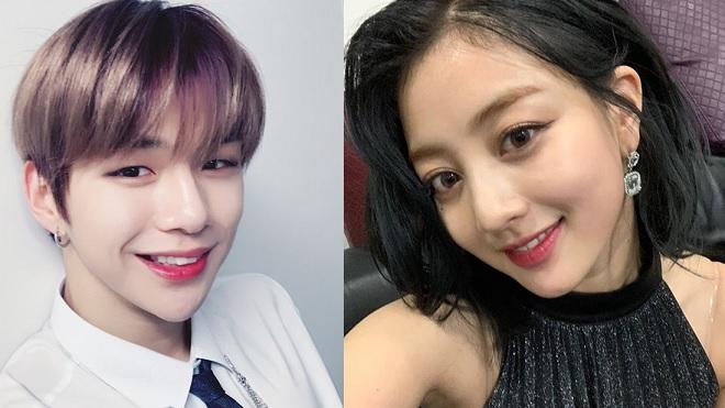 Kang Daniel, Kang Daniel công khai bạn gái Jihyo của Twice, Twice, Jihyo