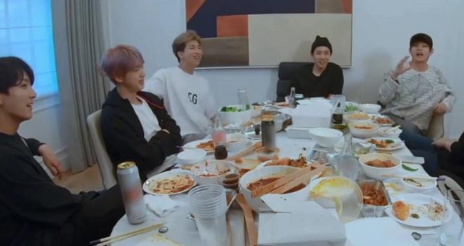 BTS, RM trộm đồ ăn của Suga, Suga phẫu thuật, RM lấy đồ ăn của Suga sau phẫu thuật, Jin BTS, RM BTS, Suga BTS