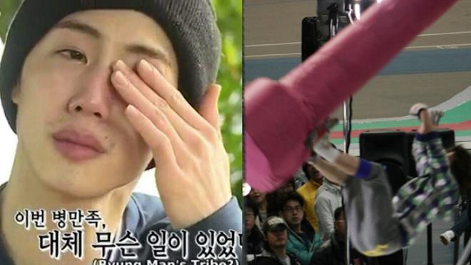 Hú hồn khi idol Hàn mạo hiểm mạng sống tham gia game show