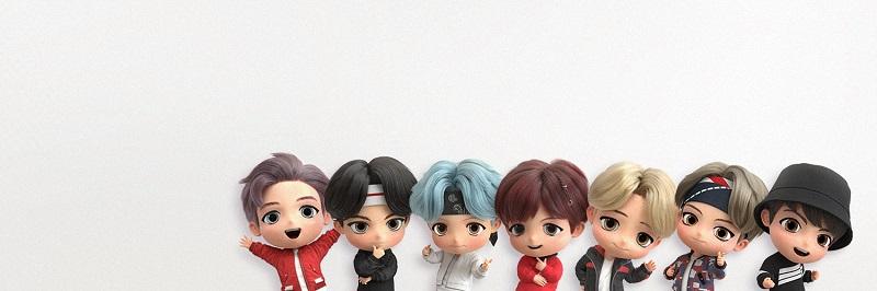 BTS, BTS phiên bản hoạt hình , RM, Jin, Suga, J-Hope, Jimin, V BTS, Jungkook, TinyTAN