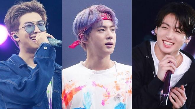 Phản ứng bất ngờ của RM BTS khi thấy Jin và Jungkook trêu nhau ngay trên sân khấu