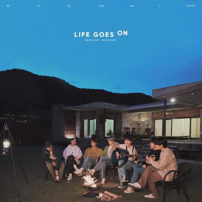 BTS, Jungkook, Jungkook BTS, Life Goes On, Suga, V, Suga BTS, V BTS, BE, album mới BTS, album BE BTS, Map of the Soul ON E, Map of the Soul BTS, BTS Billboard