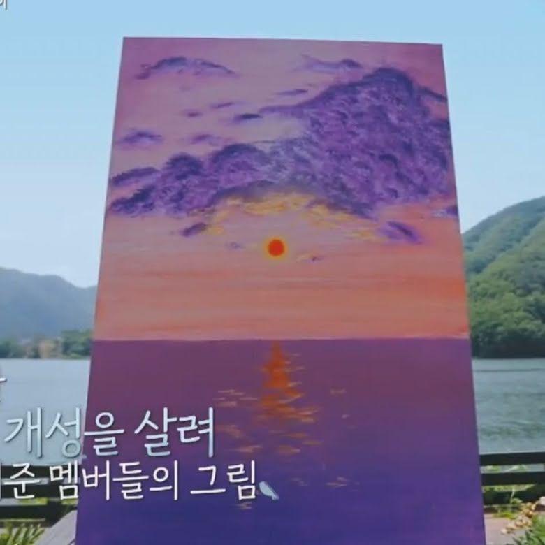 BTS, BTS vẽ tranh, BTS khoe tranh, Jungkook, RM, Jimin, Jin, V, Suga, Jhope, Jungkook vẽ tranh, RM vẽ tranh, Jimin tranh vẽ, Jin tranh vẽ, V tranh vẽ