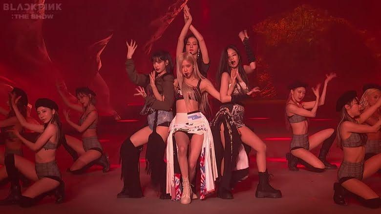 Blackpink, Blackpink The Show, The Show Blackpink, The Show, Jennie, Rose, Lisa, Lady Gaga, Jisoo, Jennie Blackpink, Rose Blackpink, Lisa Blackpink, Jisoo Blackpink