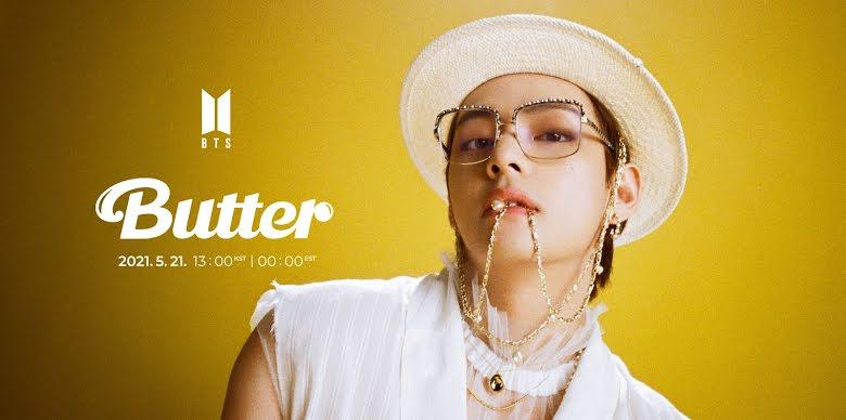 BTS, BTS Butter, Butter BTS, BTS V, V BTS, Jhope BTS, BTS Jhope, BTS J Hope, J Hope BTS, lịch ra mắt Butter, ngày phát hành Butter, Butter nhạc rock, teaser Butter