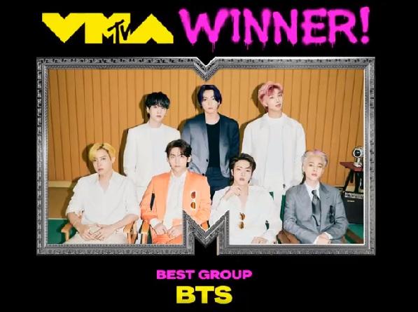 BTS, MTV VMA, BTS MTV VMA, BTS giải thưởng, BTS nhóm nhạc của năm, Butter, Butter BTS, Lil Nas X, Justin Bieber, Olivia Rodrigo, Madonna, Harry Styles, Billie Eilish