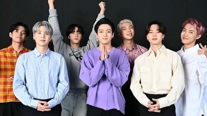 MTV VMA 2021: BTS vô đối ở hạng mục Nhóm nhạc của năm