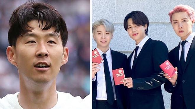 Son Heung Min: 'Tôi là fan bự của BTS, họ là những người hùng của dân tộc'
