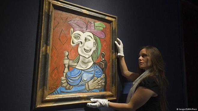 Bức tranh của Picasso từng bị phát xít Đức đánh cắp đạt giá 1.000 tỷ