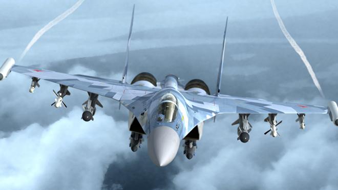 Chiến đấu cơ Su-27 Nga chặn máy bay ném bom B-52 trên Biển Baltic