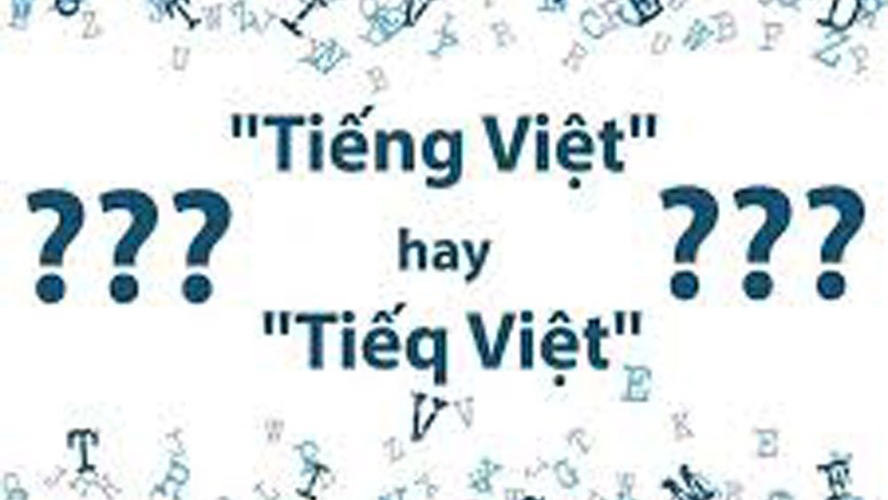 Bộ Giáo dục Đào tạo lên tiếng về đề xuất cải tiến Tiếng Việt thành Tiếq Việt gây sốc