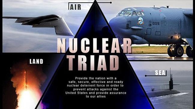Bộ Quốc phòng Mỹ công bố chiến lược hạt nhân mới