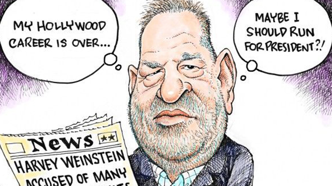 Vụ xâm hại nhiều bé gái và bê bối tình dục của 'ông trùm' Holywood Harvey Weinstein 'chiếm sóng' Pulitzer 2018