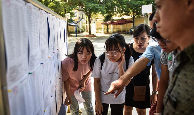 Tra cứu điểm thi vào lớp 10 năm 2018 của Hà Nội, TP HCM và toàn quốc: Cập nhật mới nhất