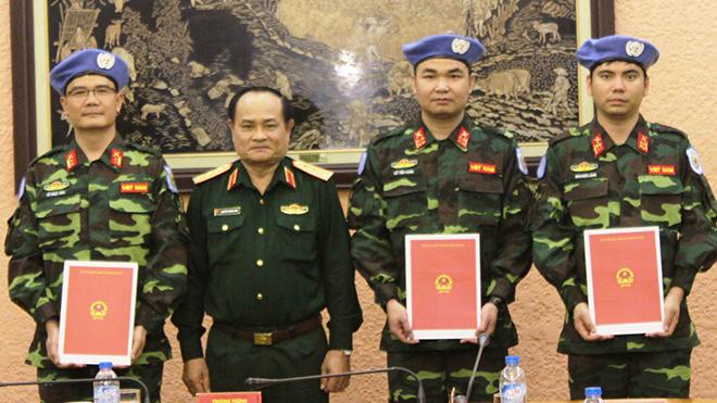 Dấu ấn lính mũ nồi xanh Việt Nam thuộc lực lượng gìn giữ hòa bình LHQ ở Trung Phi