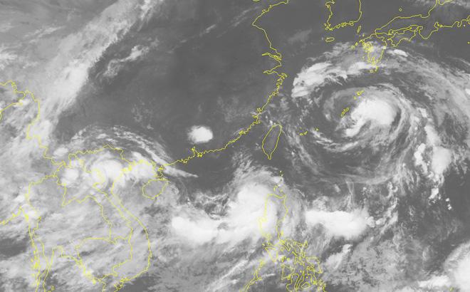 Áp thấp nhiệt đới, Bão số 4, bão mới nhất, tin bão mới nhất, tin bão số 4, tin áp thấp, bão số 4 2018, tin bão, dự báo thời tiết, cơn bão số 4, tin áp thấp nhiệt đới